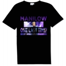 Barry Manilow - One Last Time Stencil Tour Shirt