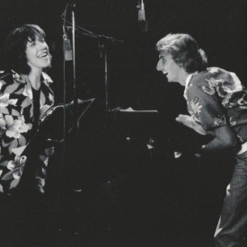 Barry Manilow with Lily Tomlin