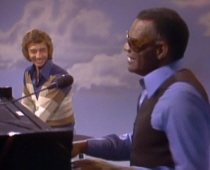 Barry Manilow with Ray Charles